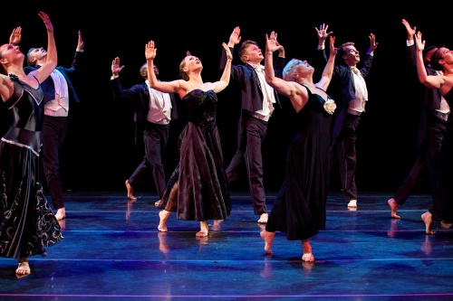 The company in 'PIAF: A Celebration'.