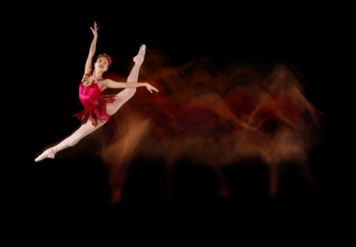 'Rubies'<br>Choreography by George Balanchine<br>Dancer: Yoshiko Kamikusa
