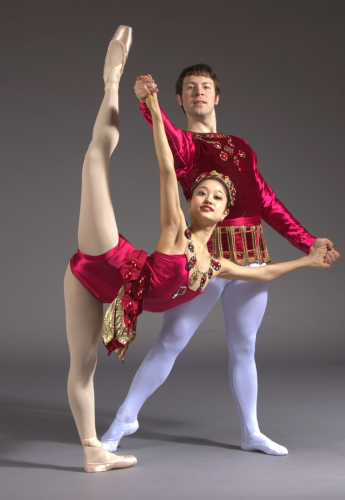 'Rubies'<br>Choreography by George Balanchine<br>Dancers: Chris Lingner and Yoshiko Kamikusa