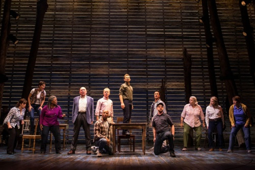 The cast of 'Come From Away'.