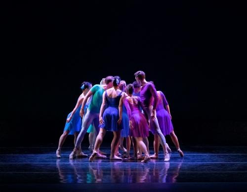 "Verb Ballets in Kate Webb's ""Stellar Syncopations""."