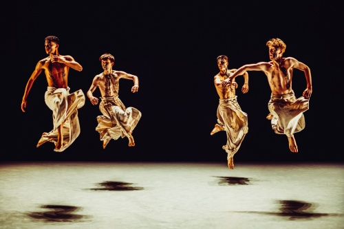 Ohad Naharin's 'Black Milk'.