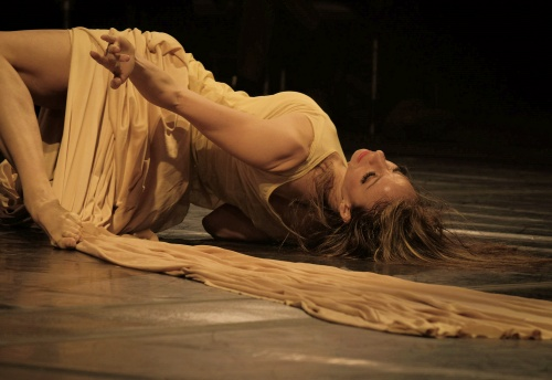 "Maria Caruso in ""Metamorphosis""."