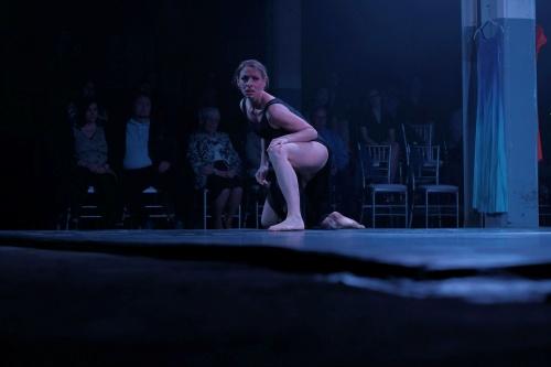 "Maria Caruso in ""Metamorphosis""."