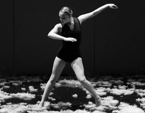 Adriana Wagenveld in Alejandro Cerrudo's 'Extremely Close'.