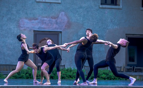 """Matthew Westerby Dance Company in 'Save Me"""" performed at the Newport Dance Festival (RI), summer 2019."""