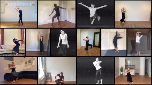 Screen shot: Martha Graham Dance Company in 'Immediate Tragedy'.