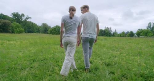 """Elle Macy & Dylan Wald in """"Home""""."""