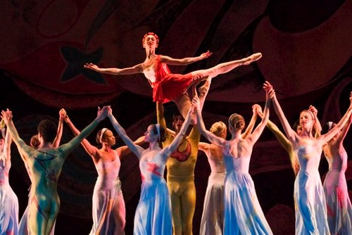The Joffrey Ballet in 'Presages'