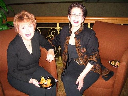 Vicki and Susan