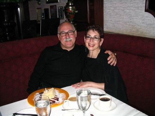 Barry & Susan At Russian Tea Time