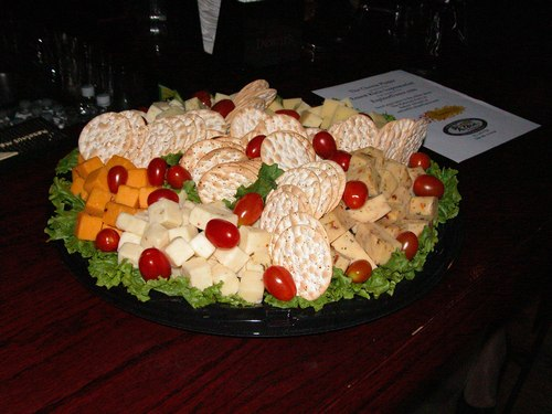 Cheese and Crackers Platter from Ernest Klein & Co. International Supermarket (<a href='http://www.ernestklein.net'>www.ErnestKlein.net</a>)