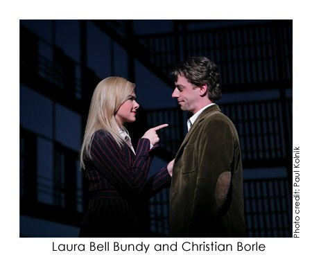 Laura Bell Bundy and Chrisitian Borle