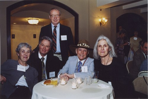 Founders of DCA at 2004 30th Anniversary Conference in Philadelphia From L - R: Marcia Seigel, George Jackson, George Dorris, Jonnie Greene, Deborah Jowitt