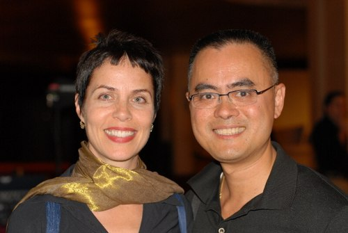 Susan Jaffe and Tommy Ng
