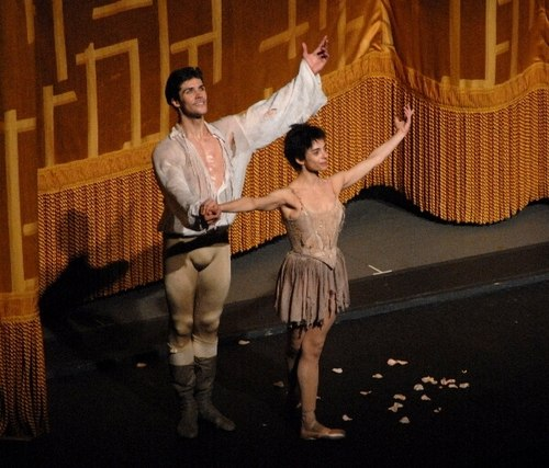 Ferri and Bolle at the 'Manon' Curtain Call. June 16, 2007 in New York City.