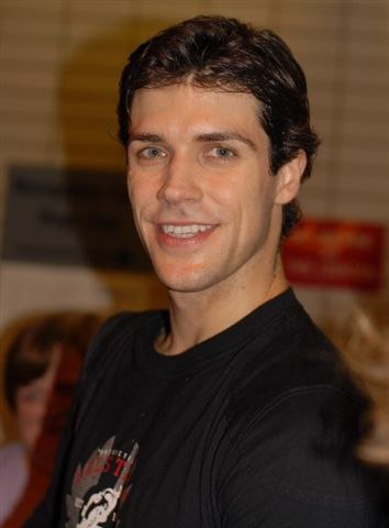 Candid stills from the ABT production of 'Manon'. Roberto Bolle at the Stage Door.