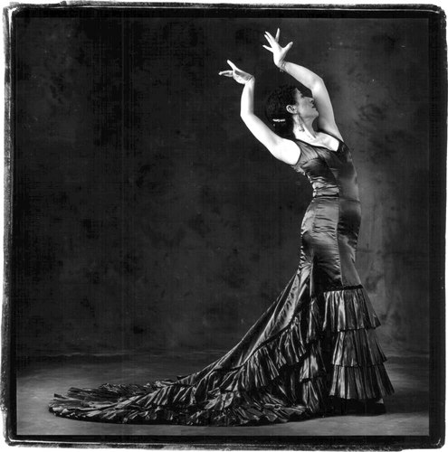 Andrea del Conte Danza Espana, the flamenco dance company. New York City.