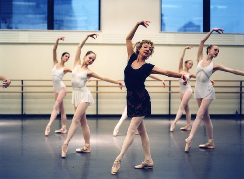Suki Schorer teaching at the School of American Ballet, 2004