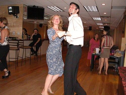 Donatas demonstrates Swing