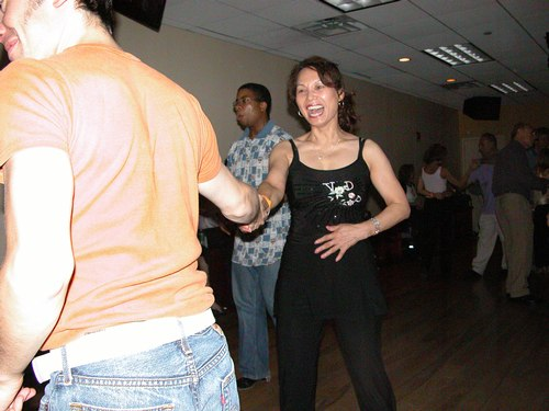 Dance makes people happy