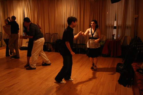 West Coast Swing at the Platinum Party