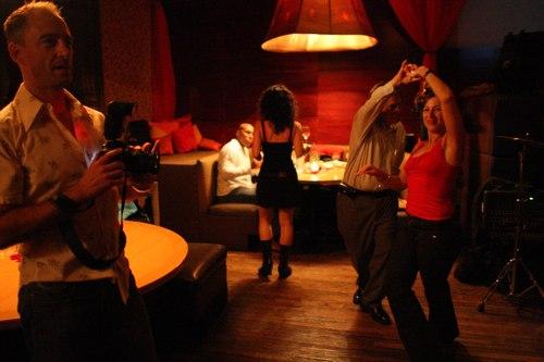 Dancing at Taj Camera: ISO 6400, 1/100, 1.4