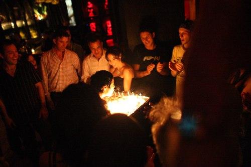 Talia's birthday cake Camera: ISO 6400, 1/100, 1.4