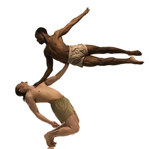 Andre Zachery and Matthew Fisher, Elisa Monte dancers