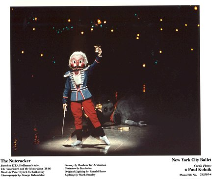 Nutcracker with Crown (New York City Ballet)