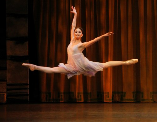 Kathryn Morgan as Juliet in Peter Martins' Romeo + Juliet