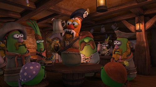Dancing Pirates (They may be vegetables, but they dance in a bar just like everybody else.)
