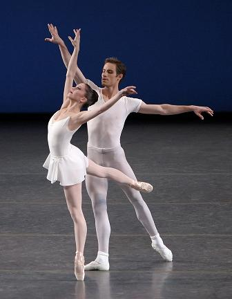 Andrew Veyette and Megan Fairchild in NYCB's 'Square Dance'