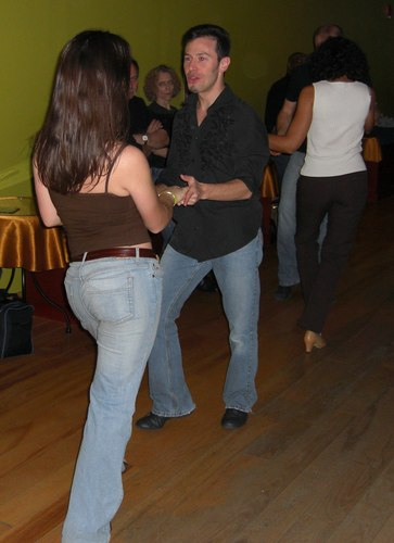 West Coast Swing at Erik Novoa's Platinum Party at Club 412 ISO 200, 1/60, 2.8