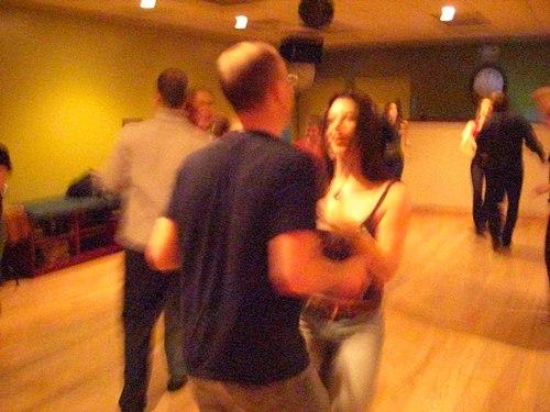 West Coast Swing at Erik Novoa's Platinum Party at Club 412 ISO 6400, 1/8, 2.8, No flash