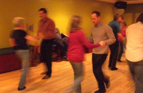West Coast Swing at Erik Novoa's Platinum Party at Club 412 ISO 3200, 1/5, 2.8, No flash
