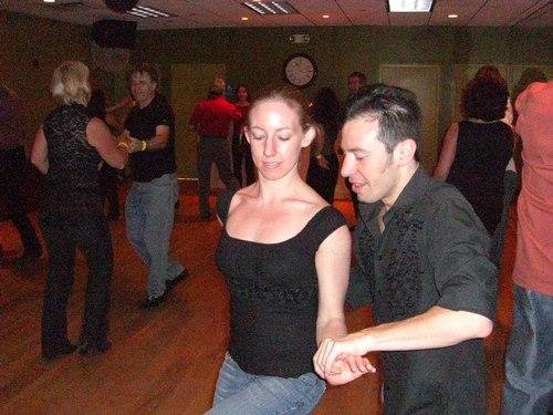 West Coast Swing at Erik Novoa's Platinum Party at Club 412 ISO 3200, 1/60, 2.8