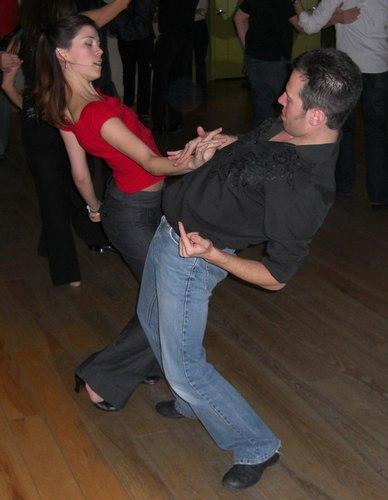 West Coast Swing at Erik Novoa's Platinum Party at Club 412 ISO 100, 1/60, 2.8