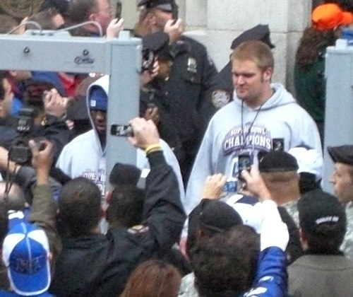 New York Giants Super Bowl XLII Celebration