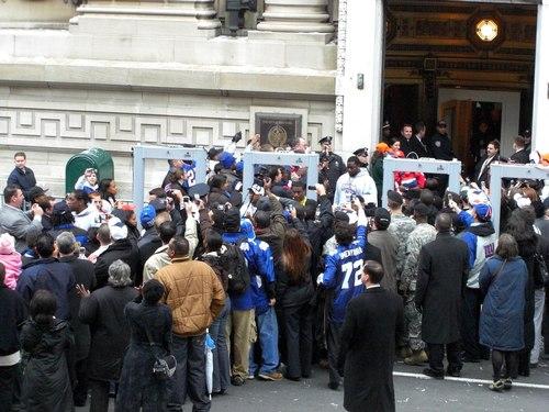 New York Giants Super Bowl XLII Celebration