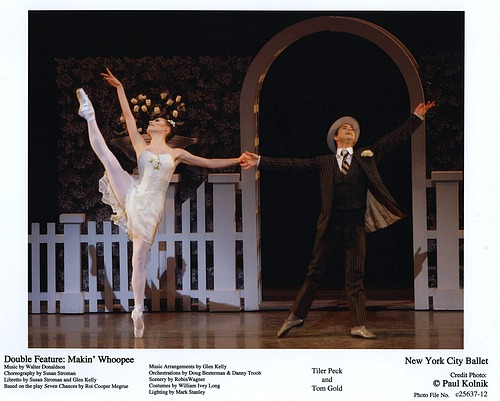 Tiler Peck and Tom Gold in NYCB's Double Feature: Makin' Whoopee