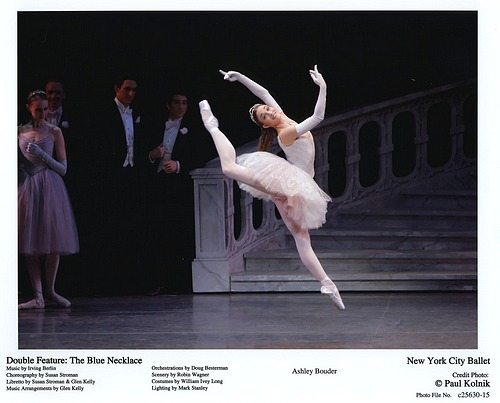 Ashley Bouder in NYCB's Double Feature: The Blue Necklace