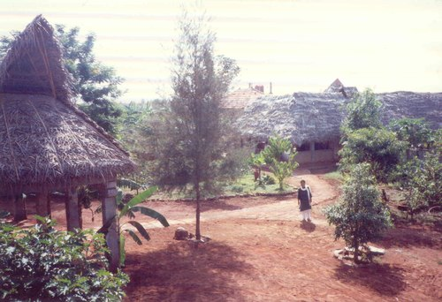 The village of Nrityagram ('dance village') outside Bangalore in south India.