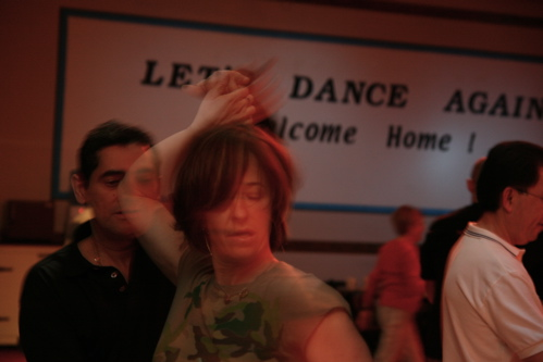 With the Lightscoop at John Lindo's dance in Rockaway