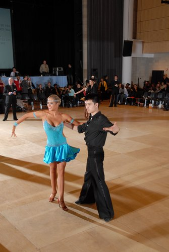 The Big Apple Dancesport Challenge Columbia University Ballroom Dance Team Session 9 International Latin: Gold Rumba Couple: Steven Gu and Nonie Shiverick
