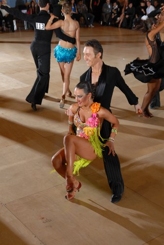 The Big Apple Dancesport Challenge Columbia University Ballroom Dance Team Session 14 International Championship Latin