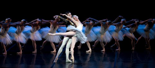 Boston Ballet in Swan Lake Larissa Ponomarenko and Roman Rykine