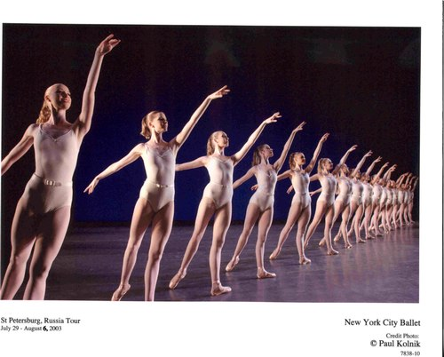 New York City Ballet's Symphony in Three Movements