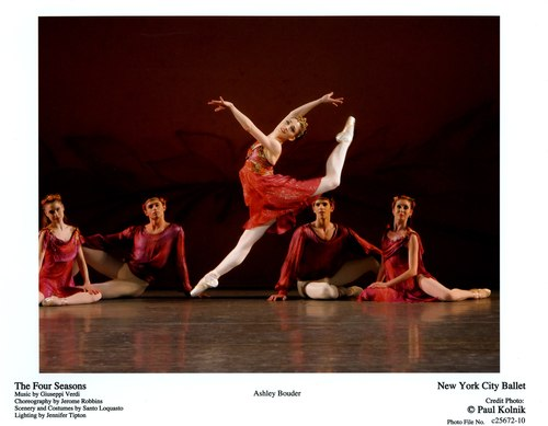 Ashley Bouder in New York City Ballet's The Four Seasons