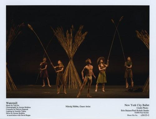 Nikolaj Hübbe in New York City Ballet's Watermill
